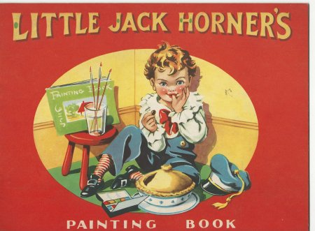 Image for Little Jack Horner's Painting Book