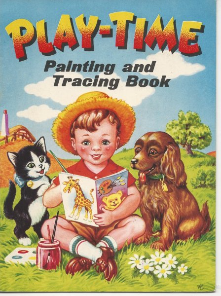 Image for Play-Time Painting and Tracing Book