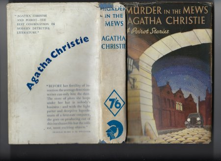 Image for Murder in the Mews and Other Stories 4 Poirot Stories