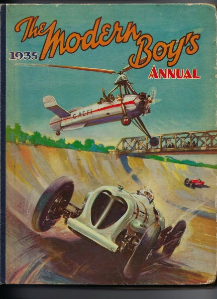 Image for The Modern Boy's Annual 1935