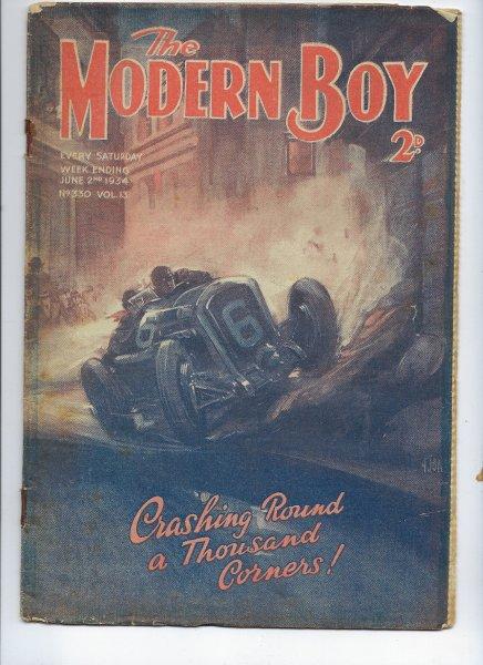 The Modern Boy No 330 Vol 13 2061934 2nd June1934