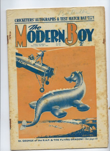 Image for The Modern Boy No. 387 Vol. 15 - 06/07/1935 (19th January 1935) - W. E. Johns Content Includes Biggles in the Mountain of Light - ( Biggles Hits the Trail, Part 3 of 10)
