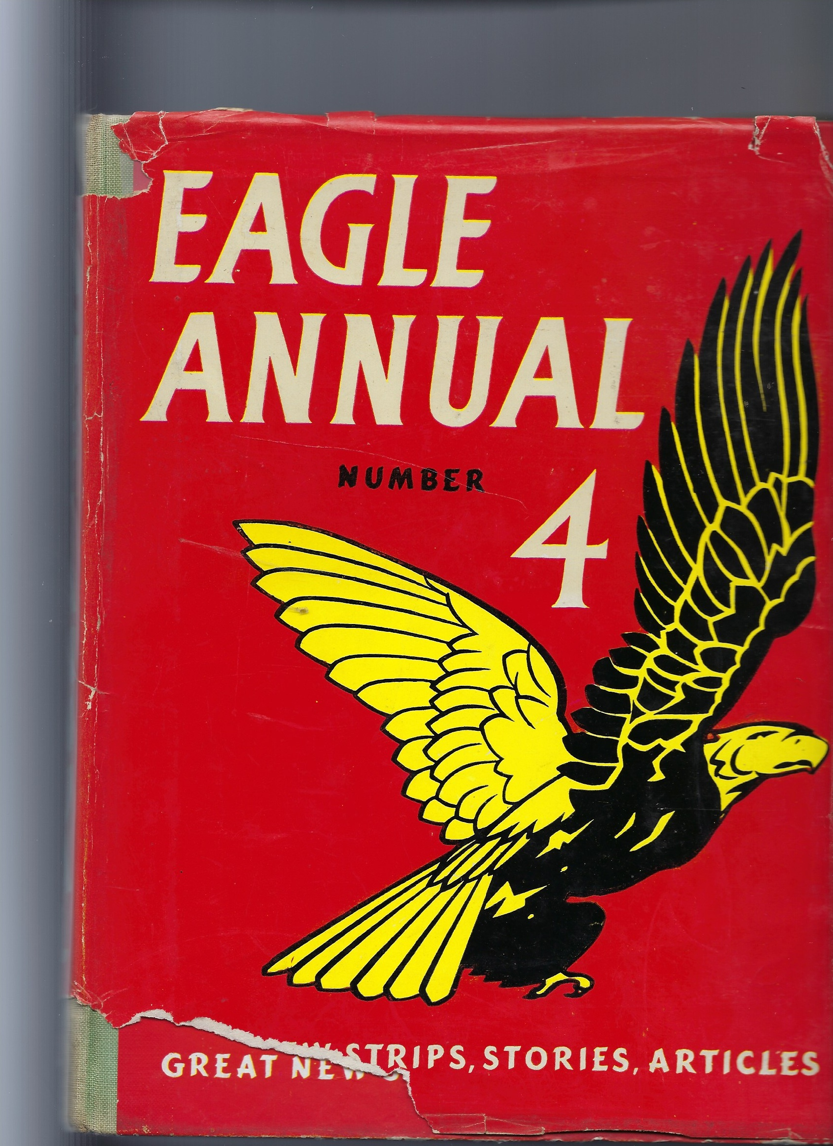 Image for The 4th (Fourth) Eagle Annual Number 4 (Four) - Contains Biggles Story ' the Adventure of the Luminous Clay' & Dan Dare
