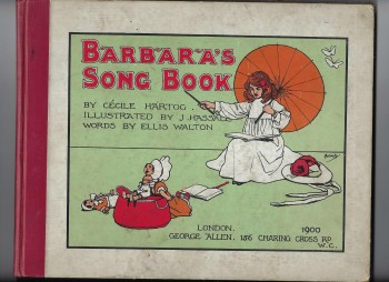 Image for Barbara's Song Book