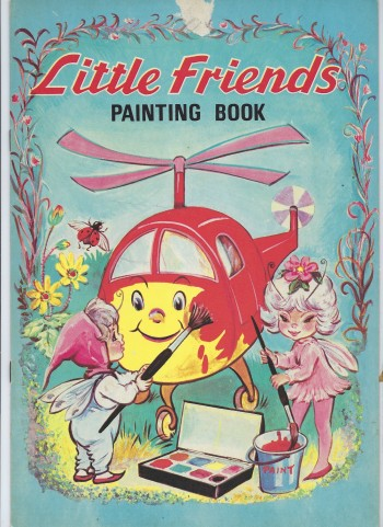 Image for Little Friends Painting Book