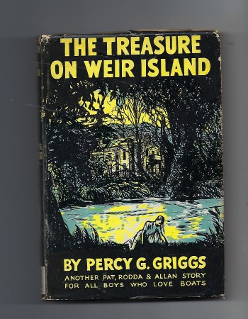 Image for The Treasure on Weir Island Another Pat, Rodda & Allan Story for all Boys Who Love Boats
