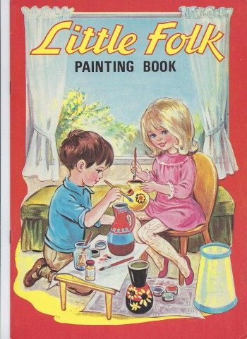 Image for Little Folks Painting Book
