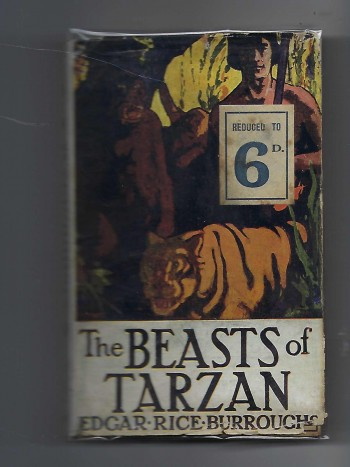 Image for The Beasts of Tarzan