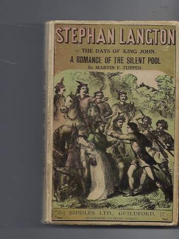 Image for Stephan Langton; Or The Days of King John