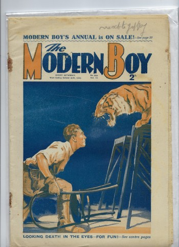 Image for The Modern Boy No. 299 Vol. 12 - 28/10/1933 (28th October 1933)