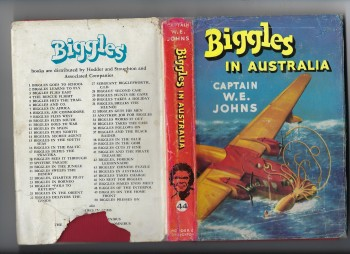 Image for Biggles in Australia