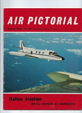 Image for Air Pictorial - Journal of the Air League - Vol. 30 - No. 8 August 1968 Containing W E Johns Obituary