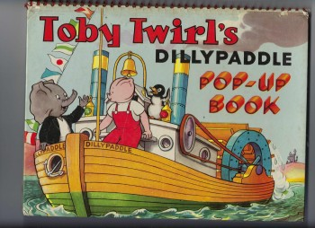 Image for Toby Twirl's Dillypaddle Pop-up Book