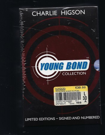Image for Unopened Shrinkwrapped Boxed Set - Young Bond Collection, Containing Silverfin; Bloodfever & Double or Die Limited Editions - Signed and Numbered