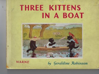 Image for Three Kittens in a Boat