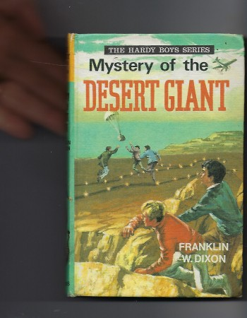 Image for Mystery of the Desert Giant (Hardy Boys)