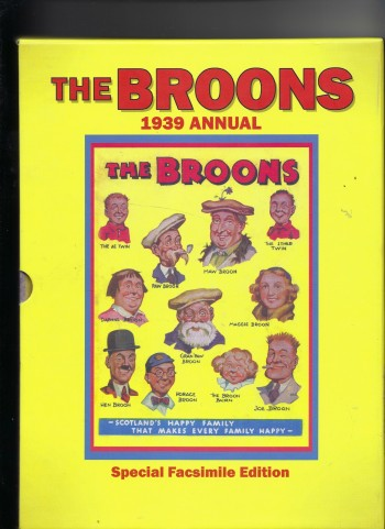 Image for The Broons Annual Annual No. 1 1939 (Facsimile)