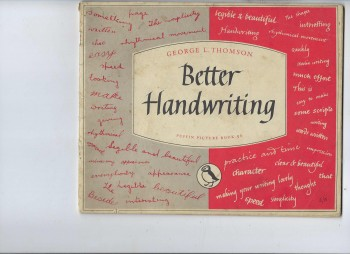 Image for Better Handwriting Puffin Picture Book 96