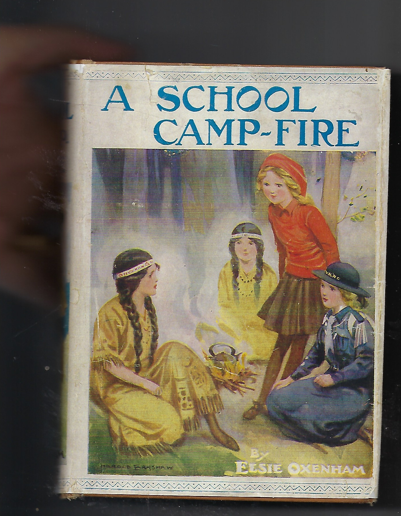 Image for A School Camp-Fire (A School Camp Fire)