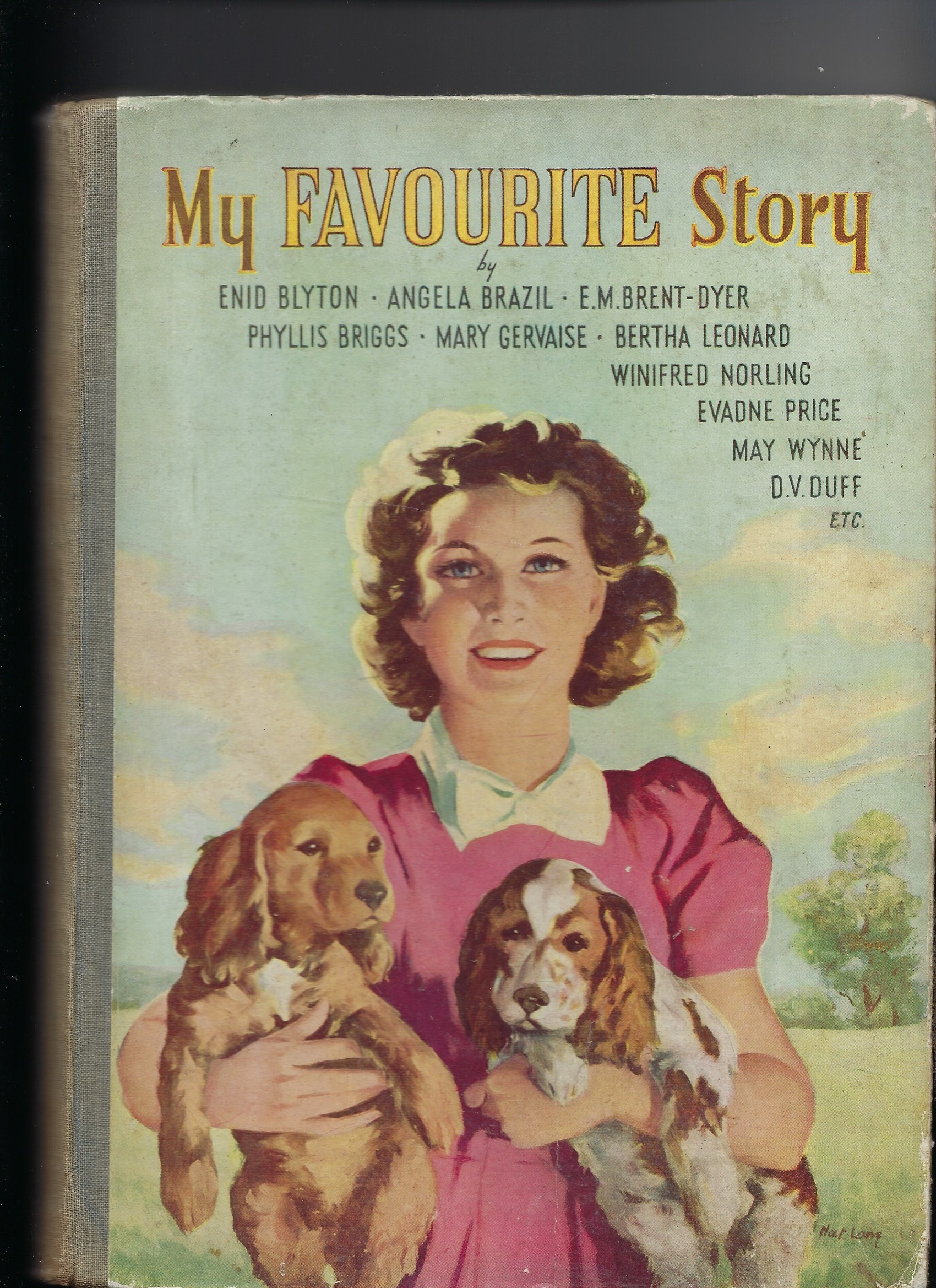 Image for My Favourite Story - Selected Stories for Girls - Contains Evadne Price - The Lion that liked peppermints