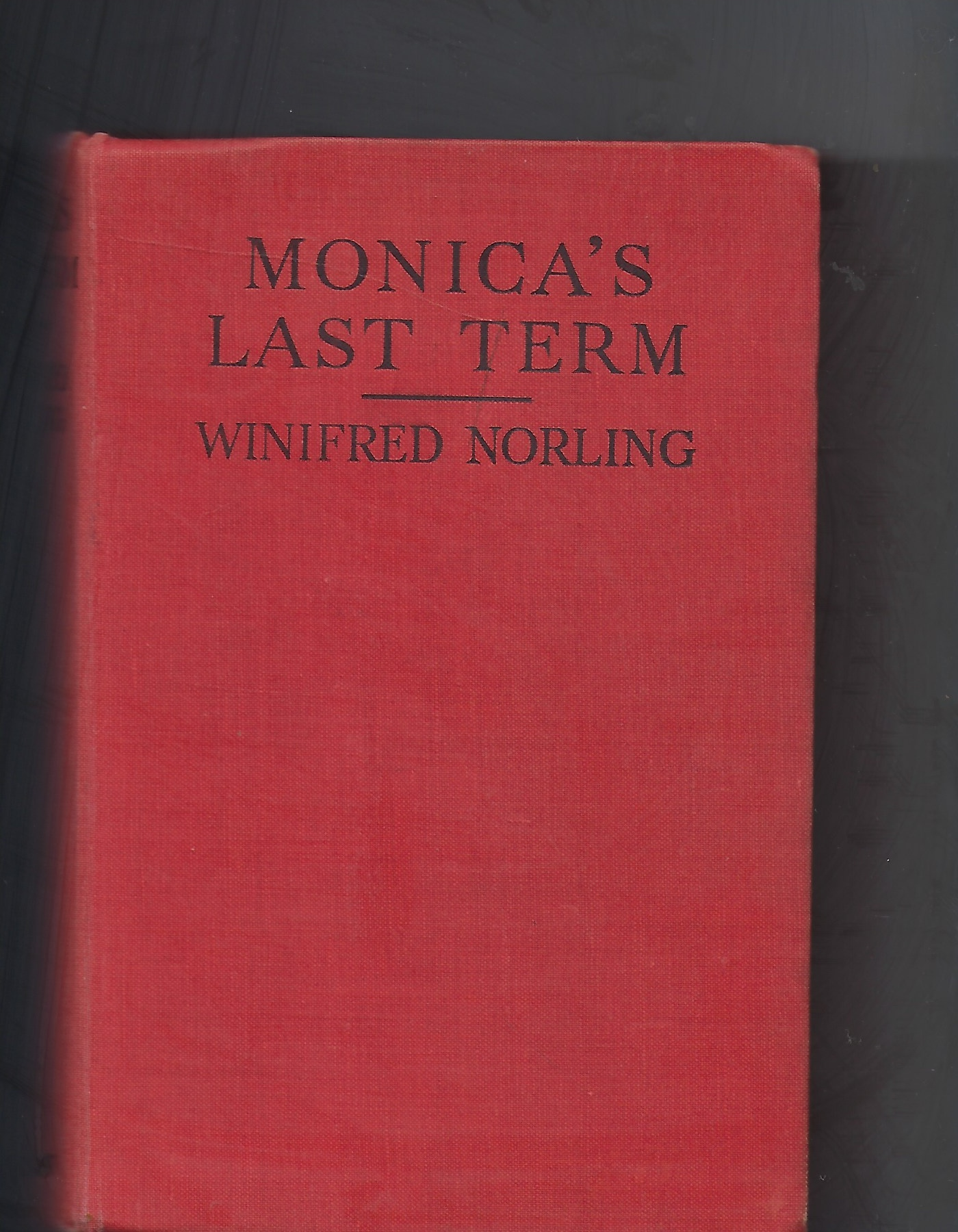 Image for Monica's Last Term