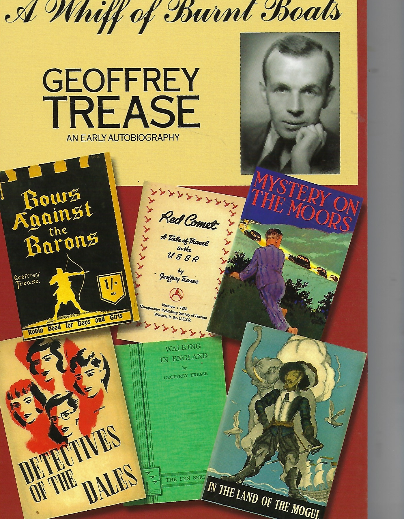 Image for A Whiff of Burnt Boats - Geoffrey Trease an Early Autobiography