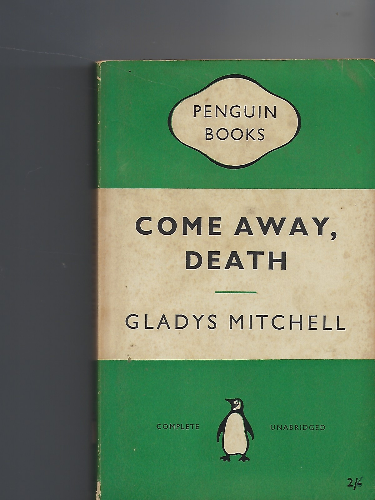 Image for Come Away, Death